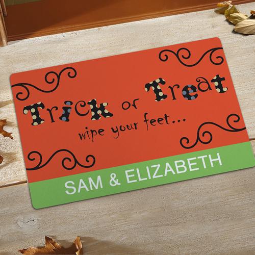 Süß oder Sauer Halloween Fußmatte Schmutzfangmatte Personalisieren