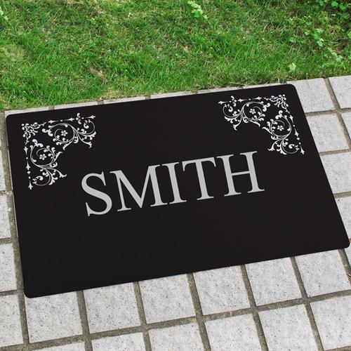 Unsere Familie Fußmatte Schmutzfangmatte Personalisieren 43x69cm