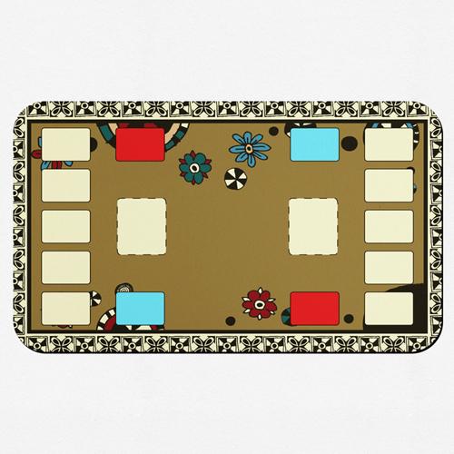 personalisierte spielmatten 35 6 x 61 0 cm. Black Bedroom Furniture Sets. Home Design Ideas