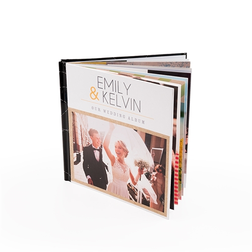 20,32 x 20,32 cm Personalisiertes Fotobuch layflat Bindung