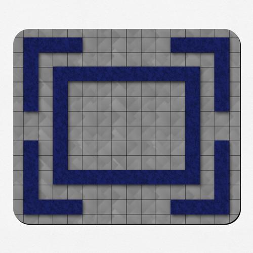 Phantasie Spielmatte Gummi Gestalten 30,5 x 35,6 cm