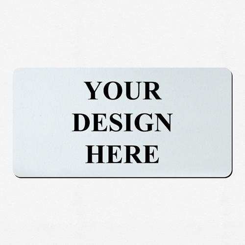 Mein Design Spielmatte Gummi Personalisieren 35,6 x 71,0 cm