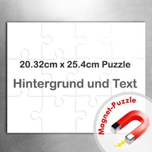 Magnetischphotopuzzle  20,3 x 25,4 cm