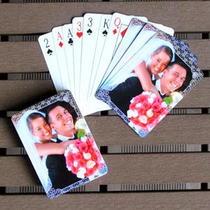 Hochzeitskartenspiel selbstgestalten mit Fotos und Text