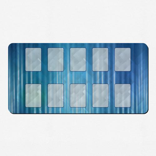 Design Spielmatte Gummi Personalisieren 35,6 x 71,0 cm