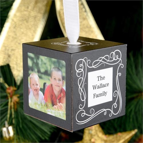 Spiegel Fotowürfel Selbst Gestalten Weihnachtsschmuck 5 1 Cm Holzwürfel