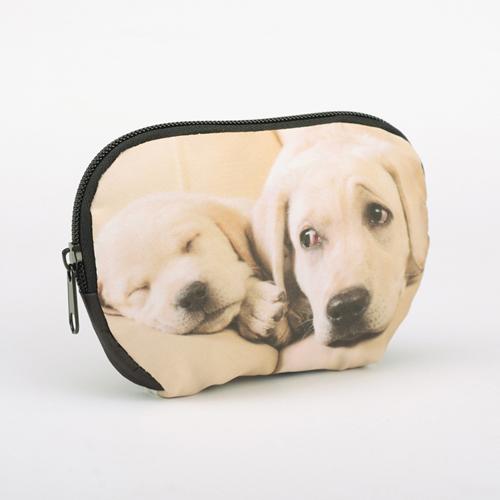 Medium Schminktasche mit Reißverschluss Foto Personalisieren 15,2 x 10,8 cm