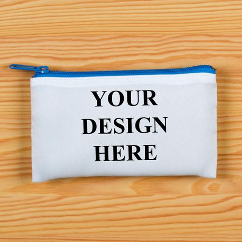 Spielkartentasche 100% Ihr Design Personalisieren Reißverschluss Blau