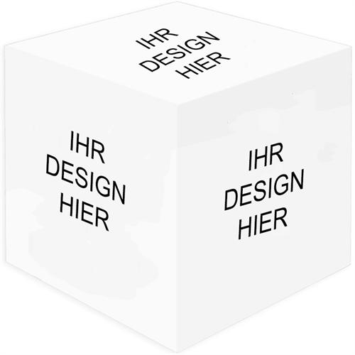 Design 6 Seiten Fotowürfel mit Ihren Fotos und Ideen