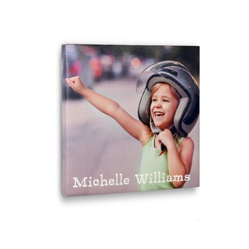 Personalisierte Fotoleinwand Gestalten 30,5 x 30,5 cm