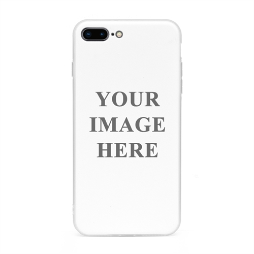 iPhone7plus iPhone8plus UV LED Druck weisser Rand Case Personalisieren