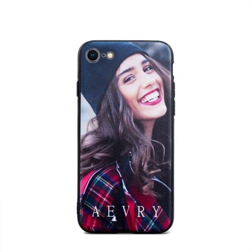 Ganz schön dunkel Schwarz Ihr Design Apple iPhone8 iPhone7 Case Hülle