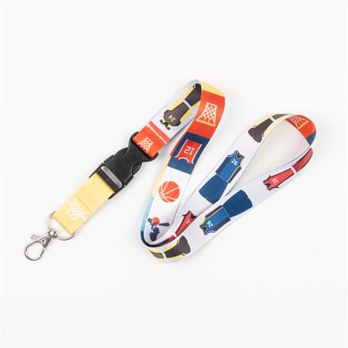 Lanyard Personalisieren Schlüsselband Gestalten mit Schließe 20 mm breit