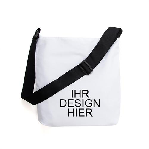 Gestalten Sie Ihre Umhängetasche mit eigenem Design und Text drucken