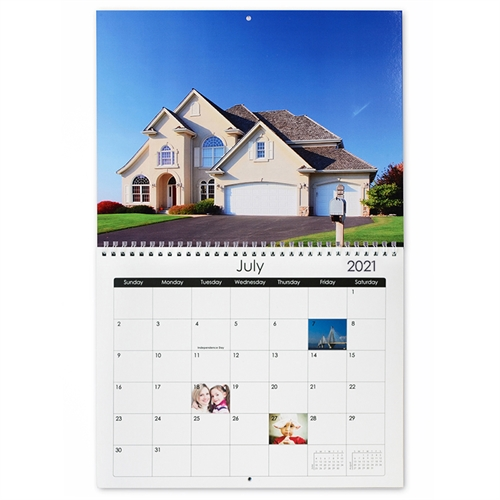 Klassischer Wandkalender Quadratisch 30,5 cm x 30,5 cm