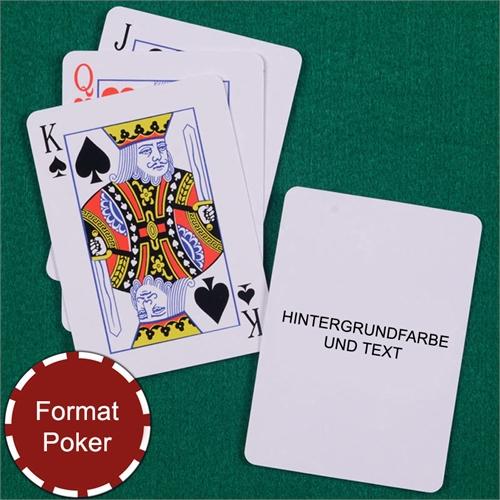 Standard Personalisierte Spielkarten, Schwarz