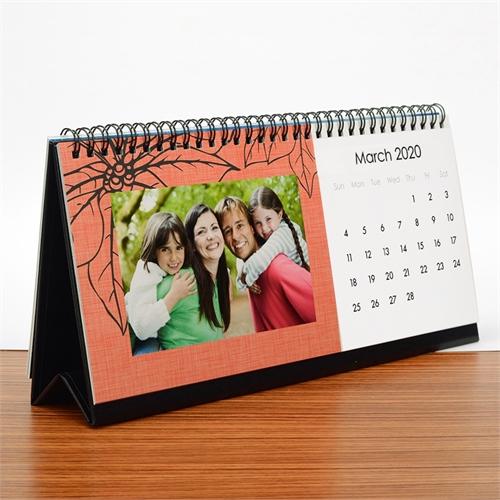 Tischkalender 127 x 279 mm Modern