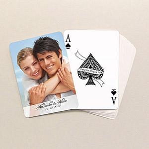 Klassische Hochzeit Spielkarten