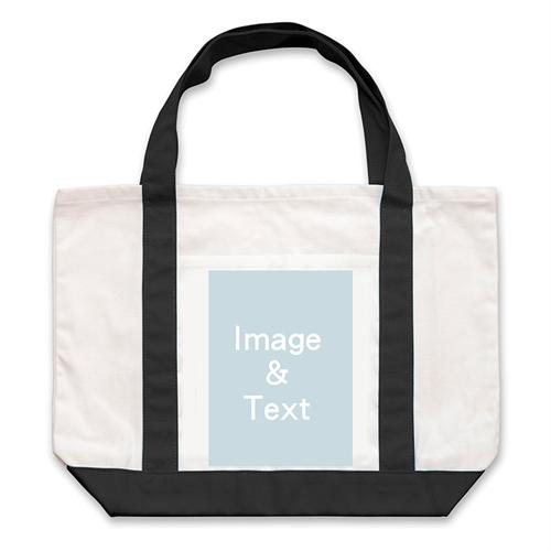 Leinwandtragetasche, 1 Bild, Hochformat