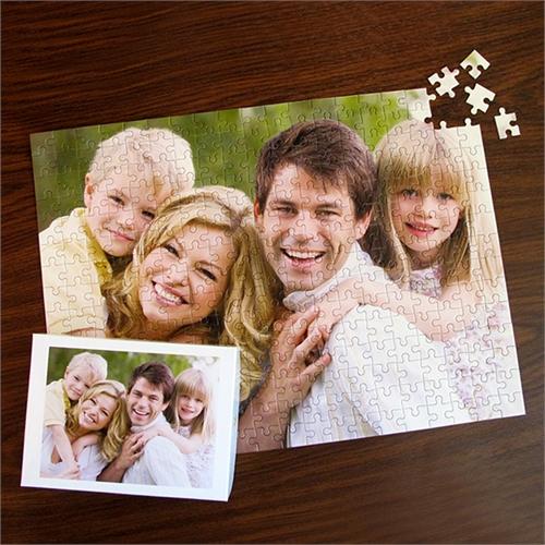 Grosses personalisiertes Foto-Puzzle 30,48 cm x 41,91 cm auf Bestellung