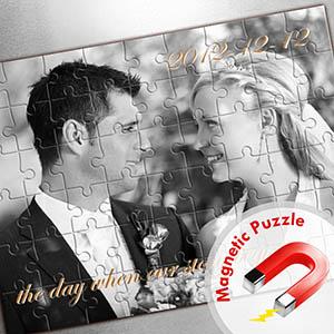 Großes Magnetisch-Photo-Puzzle, Querformat