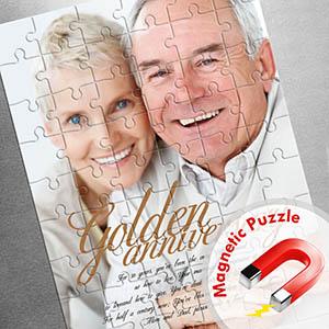 Grosses Magnetisch-Foto-Puzzle, Liebe