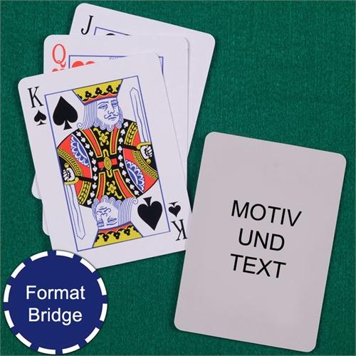 Bridge Spielkarten Standardgröße
