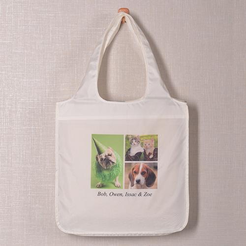 Drei Fotos Shopppingtasche Modern