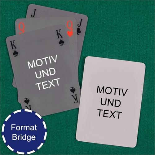 Einfache Bridgekarten