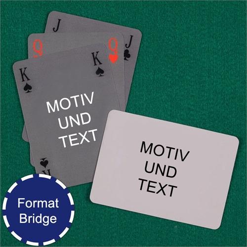 Bridge Kartenspiel Querformat