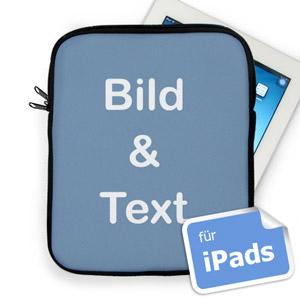 Personalisierte iPad Tasche Hochformat