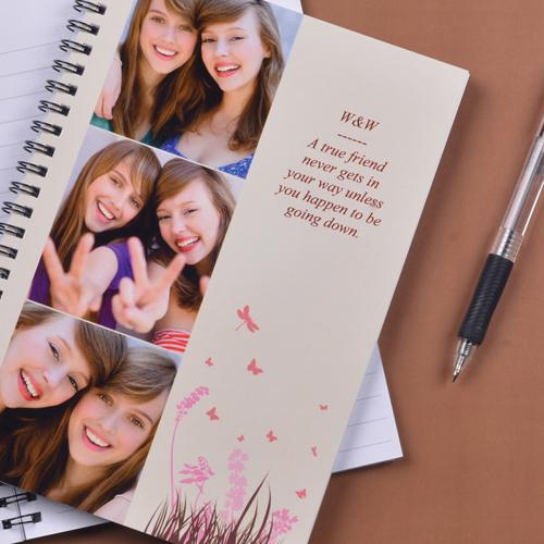 Notizbuch Dreier Kollage Frühling in Pink