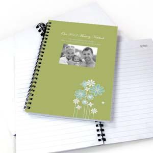 Notizbuch Moderne Blumen