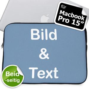 Beidseitig personalisierbare MacBook Pro 15 Tasche (2015)