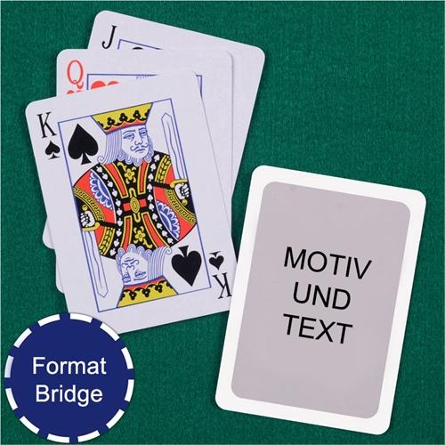 Bridge Spielkarten Standardindex Rot