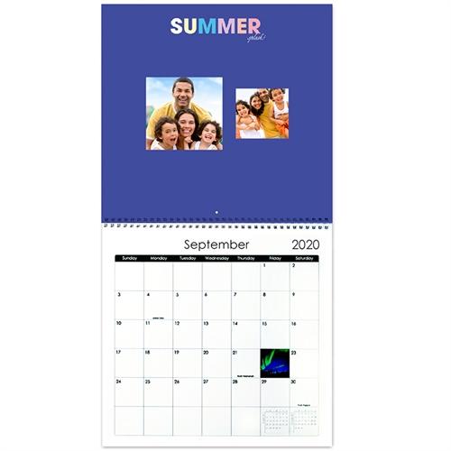 Gut gesagt Wandkalender 30,5 cm x 30,5 cm Quadratisch