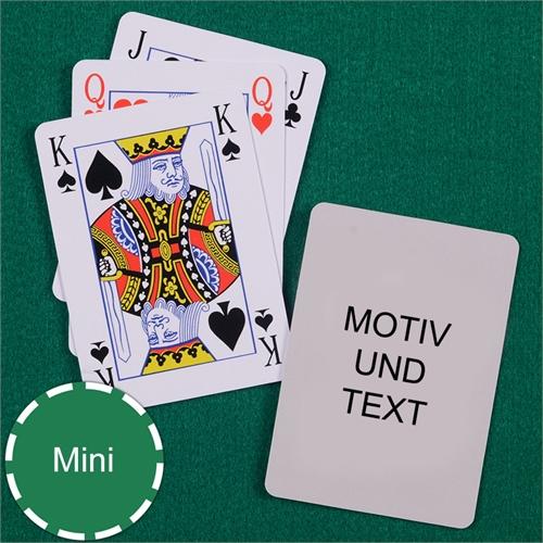 Mini Bridge Kartenspiel
