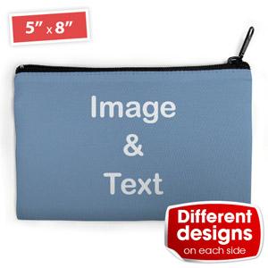 Kosmetiktasche (Medium) Beide Seiten unterschiedlich personalisieren