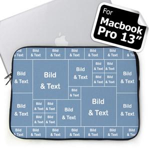 Facebook 31 Fotos Kollage MacBook Pro 13 Tasche (2015)