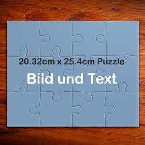 puzzle selber machen 12 teile