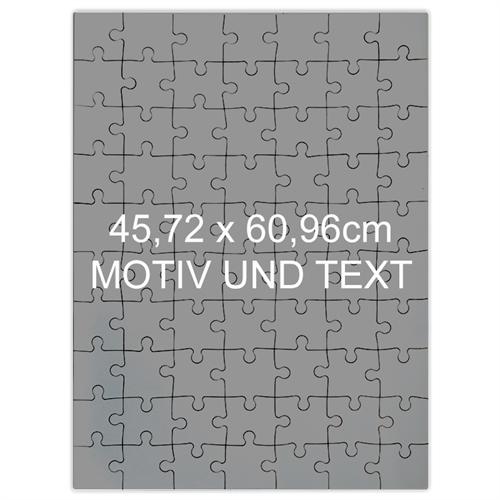 Riesenfotopuzzle Hochformat 70 Teile 62x46cm personalisierte Box24