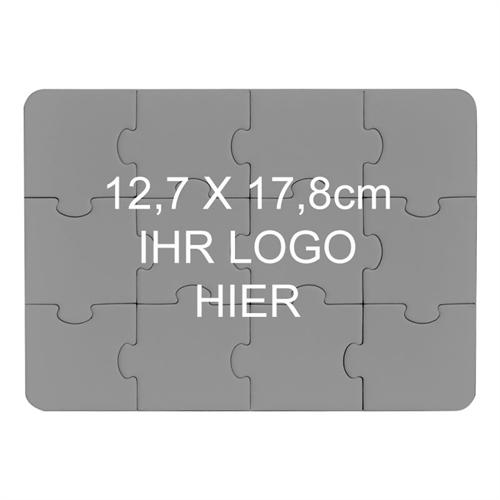 puzzle gestalten zwölf teile querformt foto, Einladung