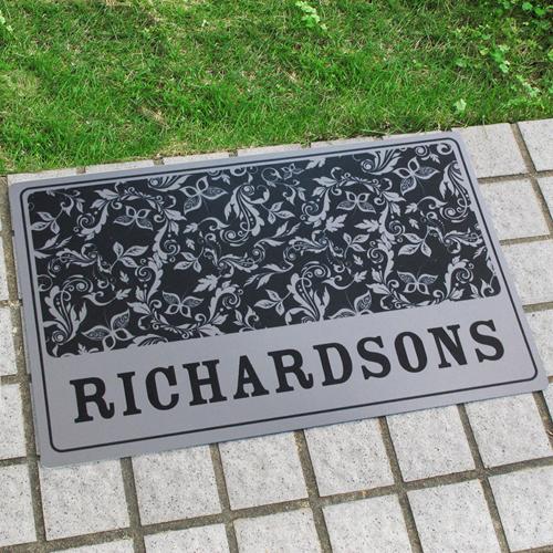 Personalisiert mit meinem Namen Fußmatte
