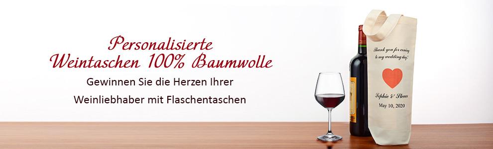 Weintaschen 100% Baumwolle