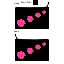 Pink Beauty - Rose - black bag