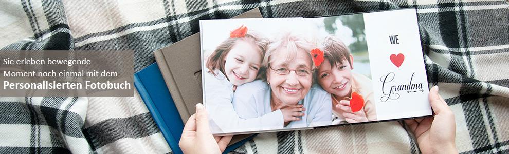 Fotobuch mit Lieblingsfotos gestalten und drucken lassen